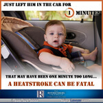 Prevent car heatstroke in children