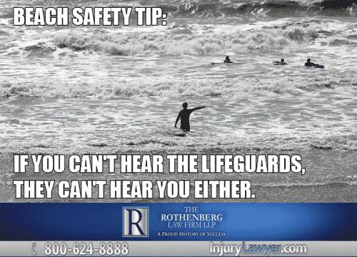 Beach Safety Meme