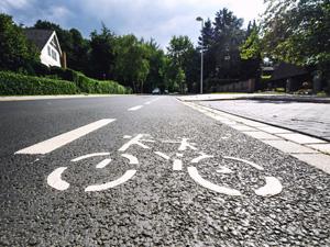 Bike and sidewalk safety