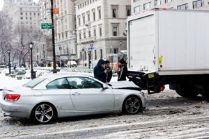 Car Accidents and Winter Weather