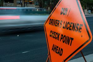 DUI Checkpoint Philadelphia