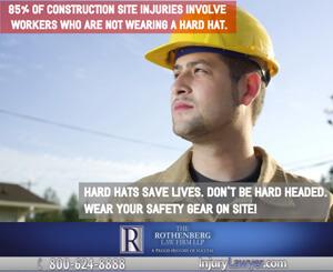 Hard Hats save lives.