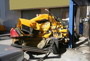 NJ Taxi Accident
