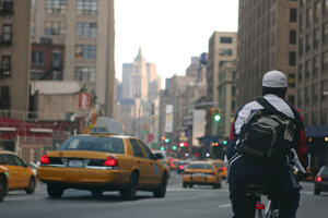 New York Bicycle Messenger Safety