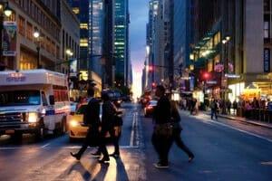 New York City Pedestrain Accident