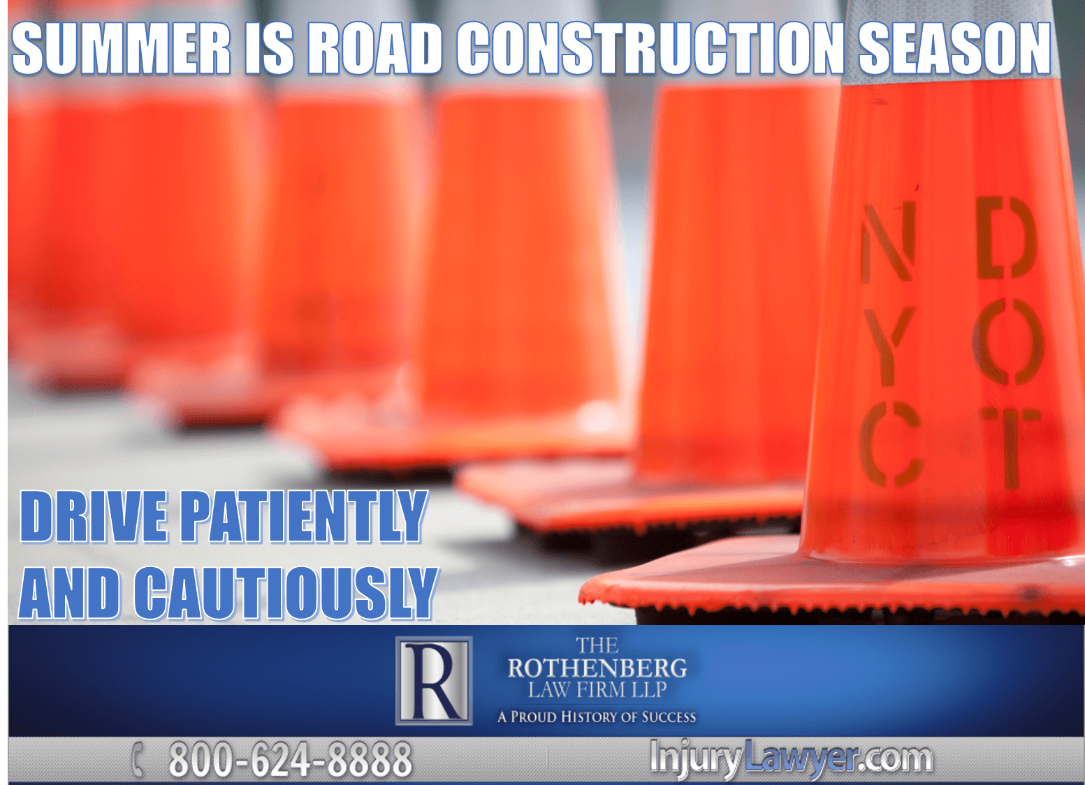 Road Construction Summer Safety