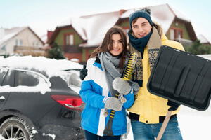 Vehicle Snow Removal