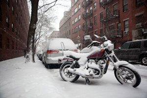 Winter Weather and Motorcycles