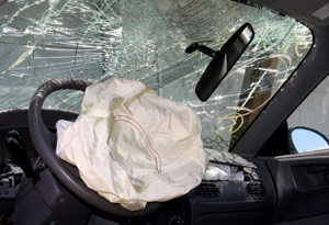 air bag after car accident