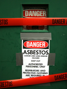 Asbestos Contaminated Building