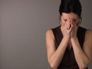 Emotionally Distressed Woman
