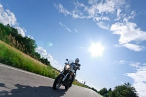 motorcycle safety in summer