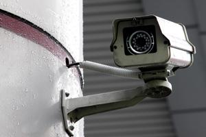 Broken Security Camera
