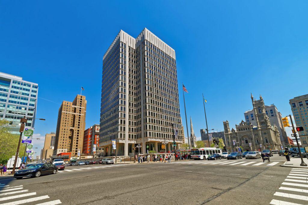 Philadelphia building in City Center